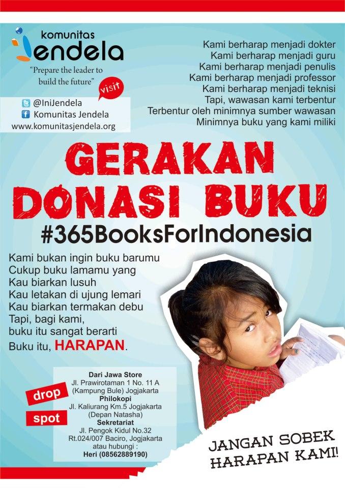 #365BooksForIndonesia