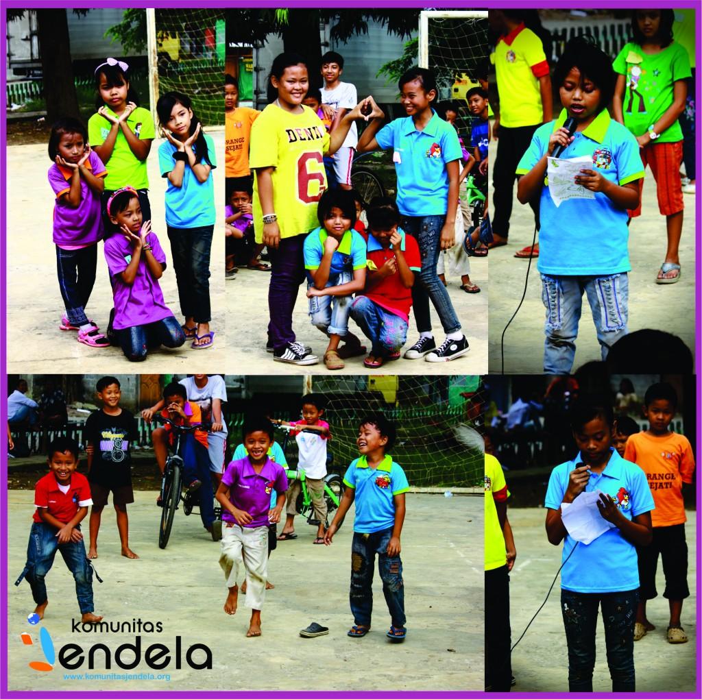 Penampilan Adik-adik Asuh Jendela Jakarta