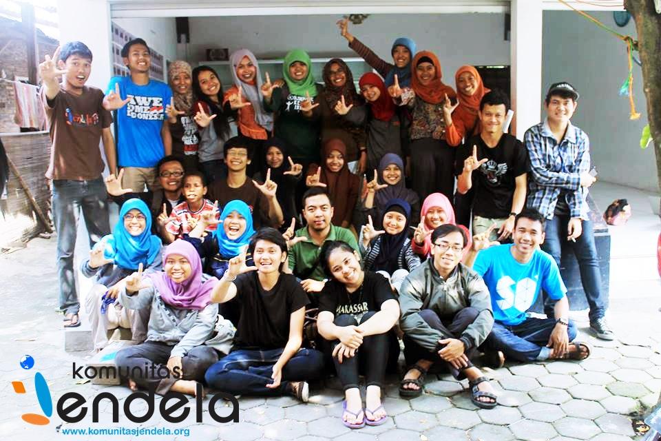 jendelist bersama kru Nusantara Centre