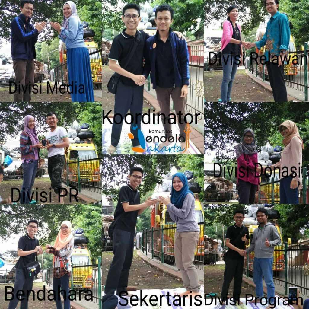 Serah terima jabatan kepengurusan Jendela Jakarta 2016