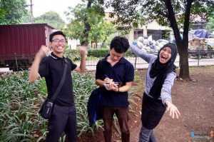 tiga generasi Koordinator Jendela Jakarta